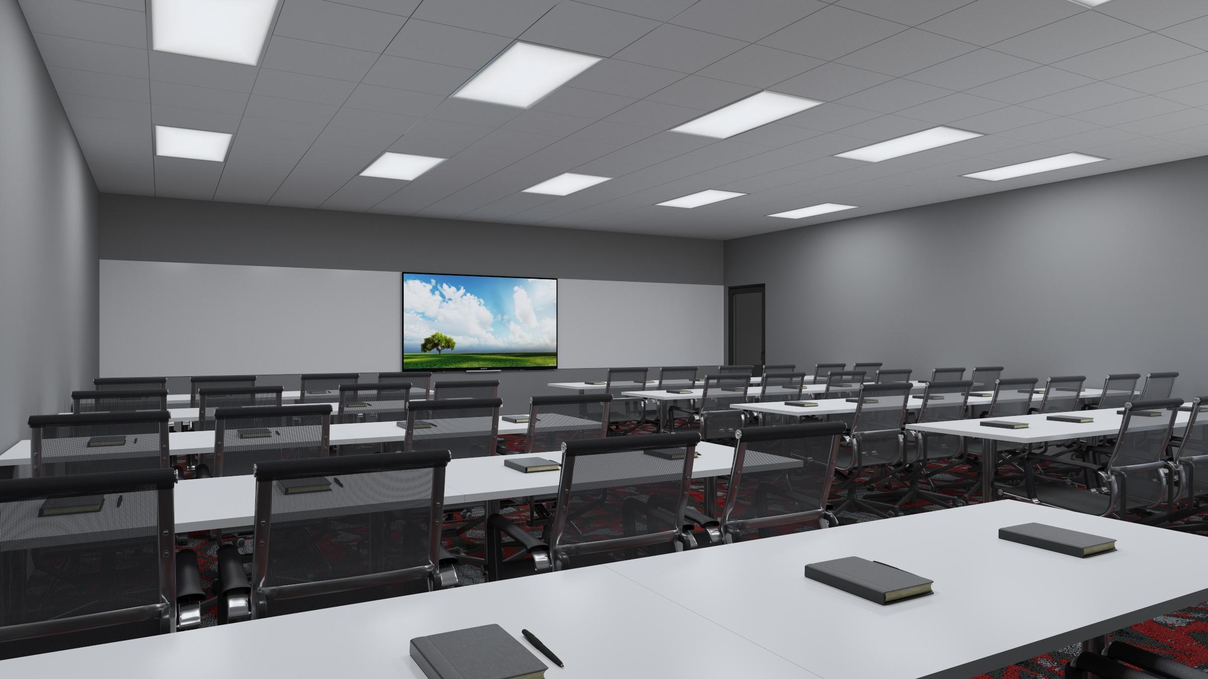 2d- training rooms